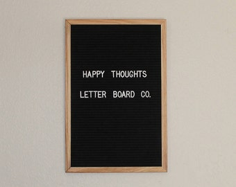 Business letter sign etsy for Felt letter sign