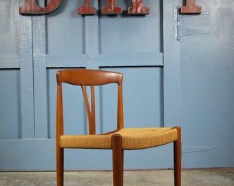 Danish Mid Century Vintage 1960s Dining/Desk Chair
