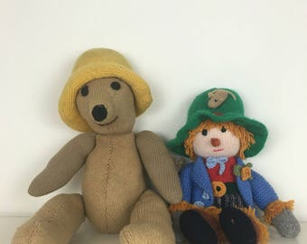 Antique Handmade Toys - Lot of Two