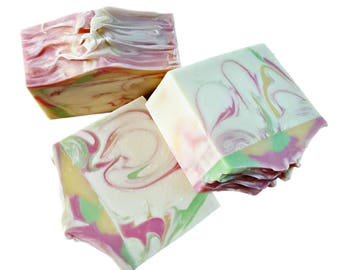 Olive Oil Soap, Shea Soap, Gifts for Women, Soap Gift, Handmade Soap, Artisan Soap, Fruity Soap, Coconut Oil Soap, Decorative Soap