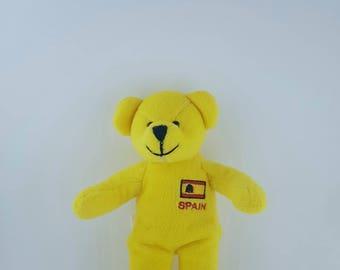 Bear - Teddy bear - Yellow bear - Bear Spain - 1990