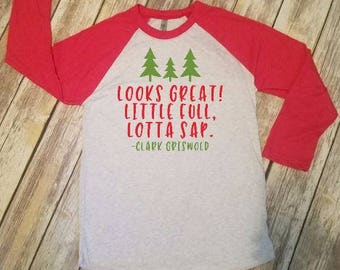 Looks Great Little Full Griswold Christmas Shirt - Christmas Vacation Shirt - Uncle Eddie Funny Christmas Shirt - The Griswolds xmas T-shirt
