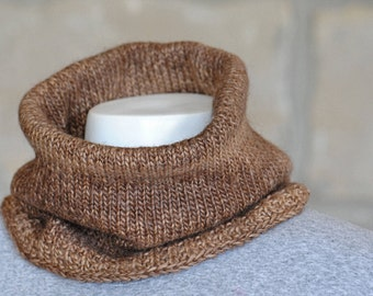 Alpaca/wool Cowl/ Gaiter