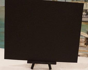 Canvas Panel 8 x 10 inch / Black