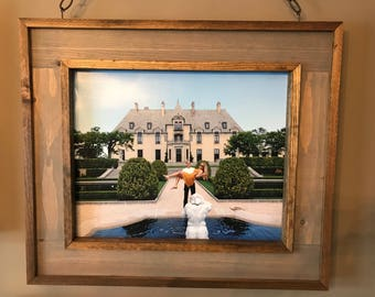 """16"""" x 20"""" Rustic Solid Wood Frame"""