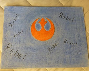 Star Wars Rebel Alliance Pastel