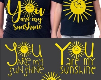 You Are My Sunshine Quote Digital Cut Files Svg Dfx Eps Png Silhouette SCAL Cricut Motivational Download for Paper Vinyl Die Cutting JB-812