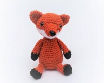 PATTERN: Crochet Fox