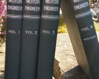 The Modern Motor Engineer by Arthur W. Judge – 1948 – 4 Volumes