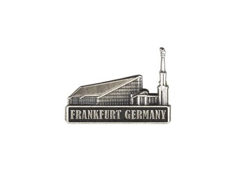 Frankfurt Germany Temple Silver Pin - LDS Gifts