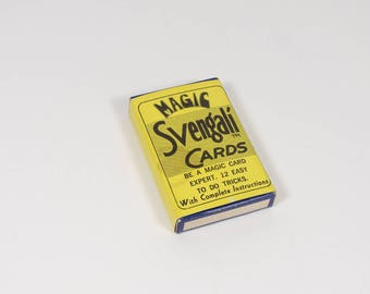 Magic Svengali Cards Vintage Magic Trick Edward O Drane - NOS