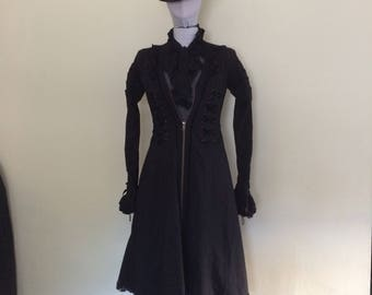 Gothic Victorian Lolita Spin Doctor Coat