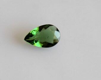 1.55 ct Natural Tsavorite Pear 7x11 mm Faceted-Tsavorite Garnet High Quality Gemstone