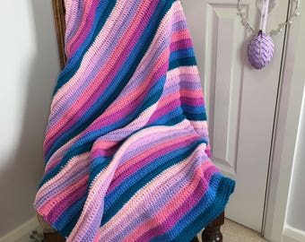 Lucy - Handmade Crochet Blanket