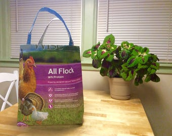 Feed bag totes, 10 colors
