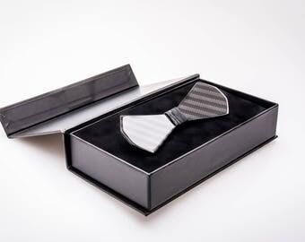 Carbon Fiber Bow Tie (Model No: 1005) (premium glossy black finish)