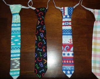 Toddler neckties