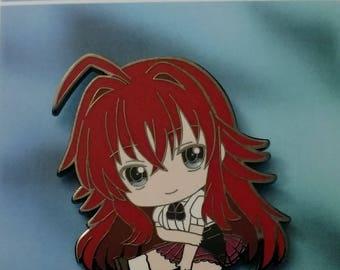 Enamel anime pin Highschool DXD Rias Gremory B grade