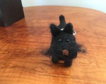 Scottish terrier keyring/decoration