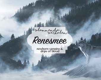 Renesmee | Twilight Inspired Candle | VlammendeVerhalen