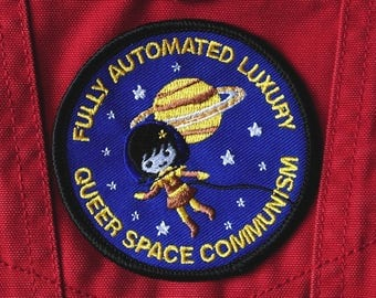 Full Automated Luxury Queer Space Communism Embroidered Patch (PRE ORDER)
