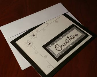 "Handmade ""Congratulations"" Card"