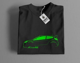 T-shirt Ford Fiesta RS Wrc Rally | Gent, Lady and Kids | all the sizes | worldwide shipments | Car Auto Voiture
