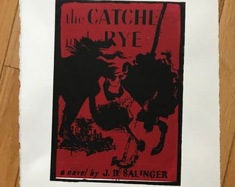 The Catcher In The Rye - Cover Art