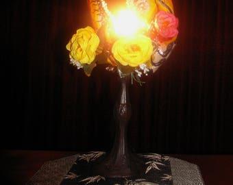 Firebreather desk lamp
