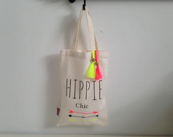 "Tote bag for kids "" Hippy chic """