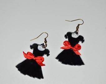 """Earrings """"my little black dress"""""""