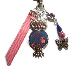 Bag charm, door keys/Grandma/great Grandma / birthday/year end gift /fete/ thanks