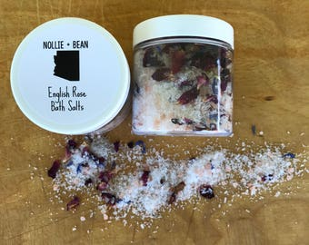English Rose Bath Salts / Bath Salts / Bath Tea / Bath Soak / Spa Gift
