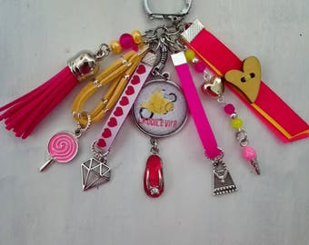 "bag charm or key theme ""la dolce vita"""