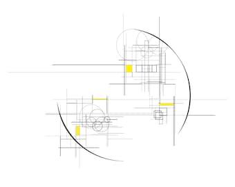 Modulor II - Jaune