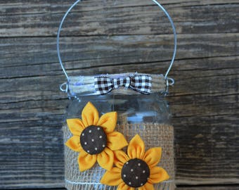 Country-style candle jar mod. 4