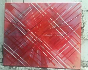 Abstract acrylic art - Modern painting