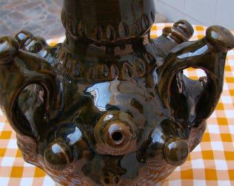 Ceramic terracotta jug