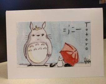 Studio Ghibli's Totoro