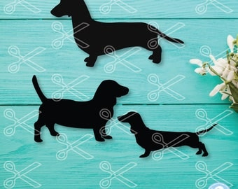 Dachshund SVG, PNG, DXF, Eps Cutting Files, dog svg, dachshund deca, weiner dog svg, dog lover svg, puppy svg, dachshund clipart, pet svg