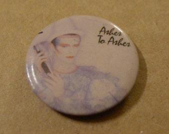 Vintage DAVID BOWIE pinback button