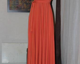 Size S-XL Infinity Dress LONGUE\ Long Dress. 10 dresses in 1. Choice of colors.