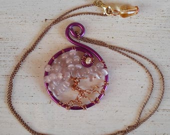 wire tree of life pendant