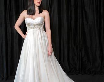 Starlight Silk Organza Bridal Gown
