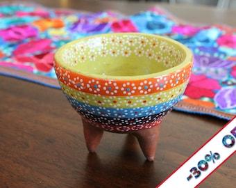 Terra Cotta Bowl   Dip Bowl   Salsa Bowl   Snack Nuts Candy Bowl   Home Decor   Serveware   Guacamole
