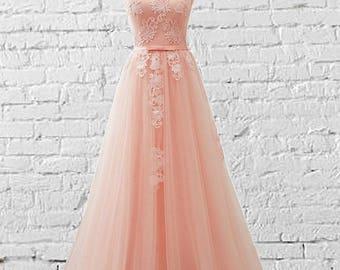 coral bridesmaid dress etsy