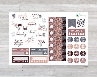 Sweater Weather Functional Planner Stickers