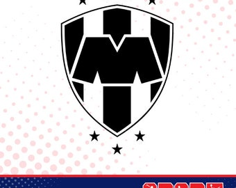 Rayados Monterrey silhouette, sport silhouettes, Soccer silhouette SS-SO-030
