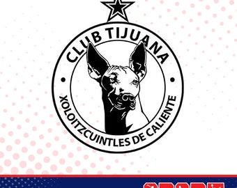 Xolos Tijuana silhouette, sport silhouettes, Soccer silhouette SS-SO-038