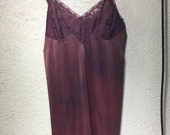 Maroon slip size 34/36